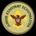 junior assistant scoutmaster badge